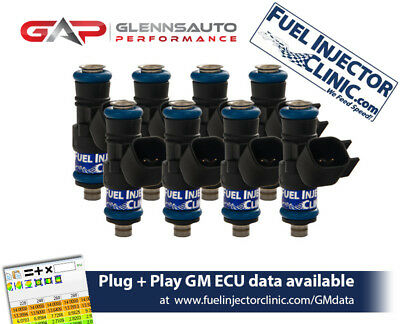 Fuel Injector Clinic FIC 525cc Injectors for 99-13 GM Truck (Silverado/Sierra)