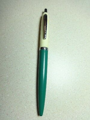 Vintage Paper Mate Double Heart Tu Tone Ball Point Pen