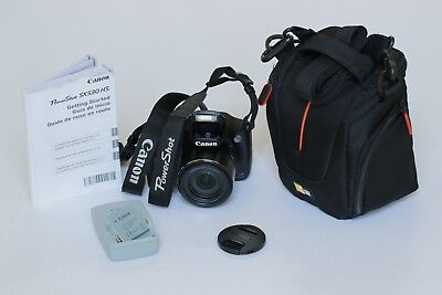 Canon PowerShot SX530 HS 16.0MP Digital Camera - Black *GREAT* condition