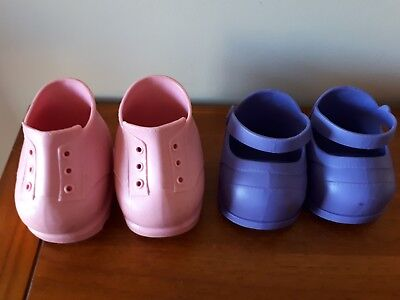 Cabbage Patch Dolls Shoes x 2 Pairs