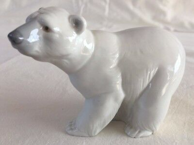 Standing Polar Bear Figurine (5403) by Lladro - Excellent Condition