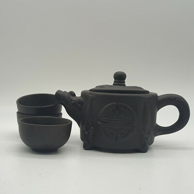 Chinese hand exquisite Yixing teapot and cup a6020