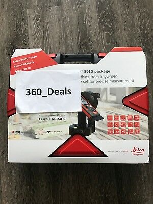 Leica Disto S910 PRO Pack Laser Distance meter, LCD, 1000 feet 7640110694893