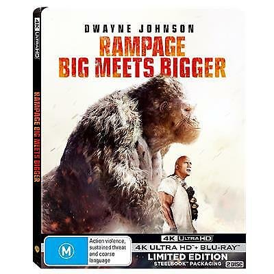 Rampage (Steelbook) (4K Ultra HD/ Blu-Ray) (Region B) New Release