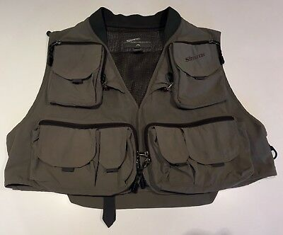 Simms Fly Fishing Vest. Large.