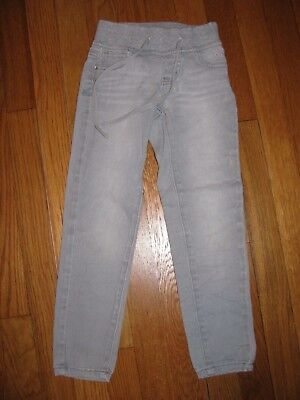 Girls Justice Gray Jeggings size 6 regular low rise