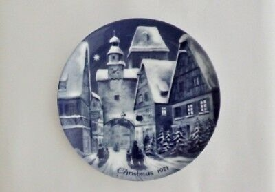 Berlin Design Limited Edition 1971 Christmas Plate (Wall Hanging)