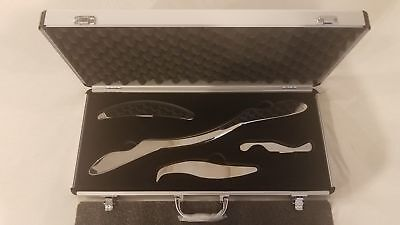 IASTM MyoFascial Graston Gua sha Tools Medical Grade Stainless Steel Tool Sets!