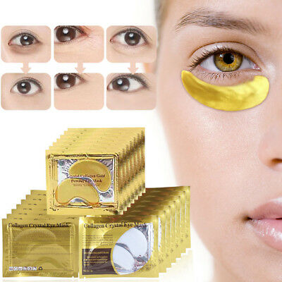 New Woman Collagen Crystal Eye Mask Anti-Aging Eyelid Patch Pad Remove Black Eye