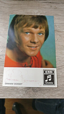 Graham Bonney--- Original Autogramm--Ultra Selten