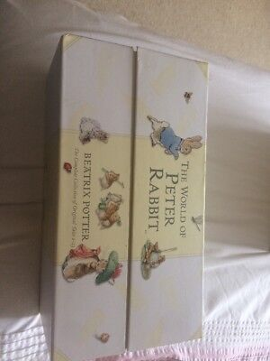 THE WORLD OF PETER RABBIT Boxed set collection of books 1-23 By Beatrix Potter