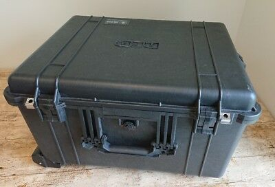 Rare Official RED ONE M MX 1620 Fitted Peli Case! Branded by Jim Jannard! LOOK!