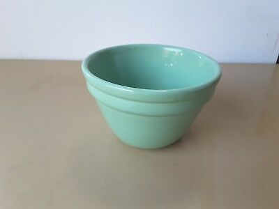 Vintage Green Fowler 11.6 cm Mixing Bowl MARKED 42