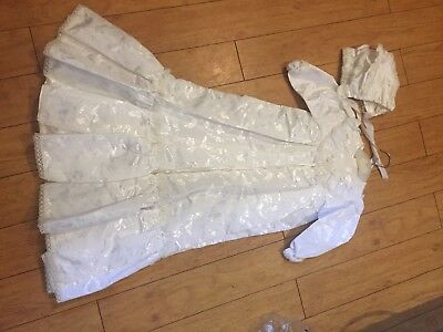 Beautiful vintage white christening gown
