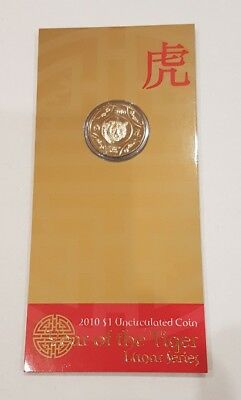 2010 Lunar Series RAM $1 UNC  - Year of the Tiger