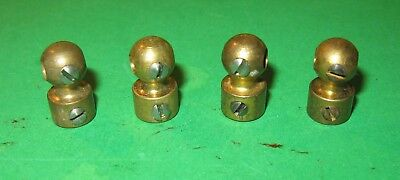 Meccano Handrail Couplings x 4.   Excellent condition.