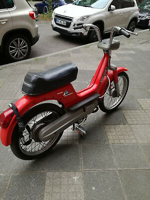 Piaggio Boxer 2 Moped  2 Ps Rot Sehr Selten