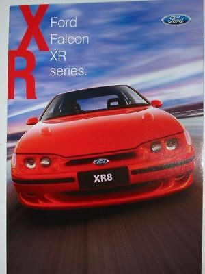 Ford Falcon Xr El Booklet 10 1997 Brochure Fcl 6866 Fair Condition