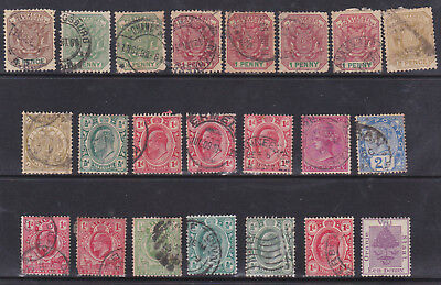 Transvaal, Orange Free State, Natal - Selection Of 22 Stamps - Used - Nice Lot