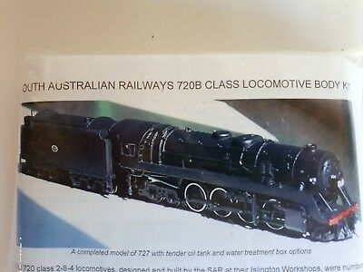 Rocky River Models SAR 720B Class Locomotive Body Kit Mint Condition HO Scale
