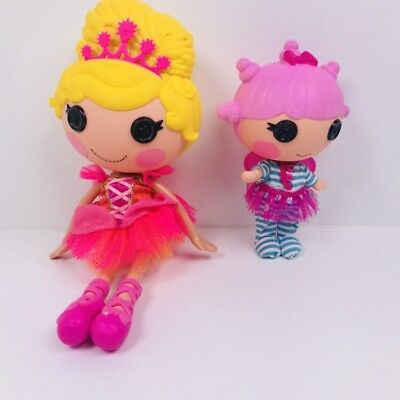 lalaloopsy dolls Dream E Wishes / Allegra Leap's N Bounds. 2 X Doll Bundle