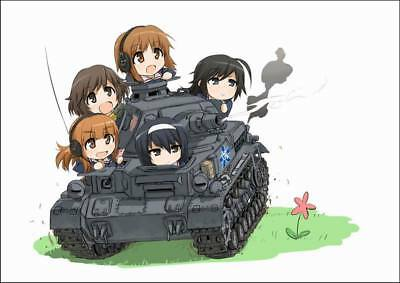"DM06628 Hot Anime Cartoon Character - Girls und Panzer 44 19""x14"" Poster"
