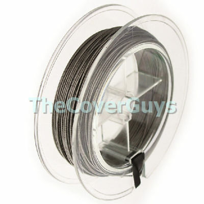25 meters 120lb Stainless Steel 6 Strand Fishing Trace for Downriggers