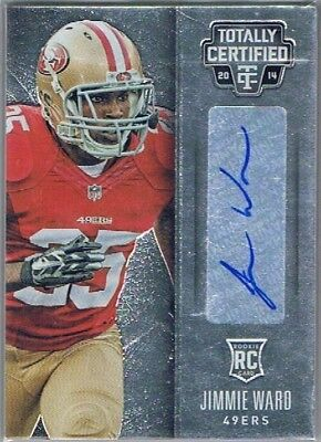 2014 Totally Certified - Rookie Auto #149 Jimmie Ward - San Francisco 49ers