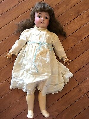 Antique German Bisque Kestner Large doll