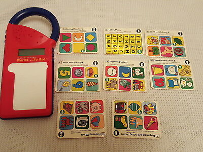 Vintage Texas Instruments Words To Go Childrens Kids Educational Flash Learning
