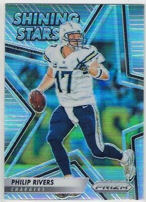 2016 Prizm - Shining Stars #2 Philip Rivers - San Diego Chargers
