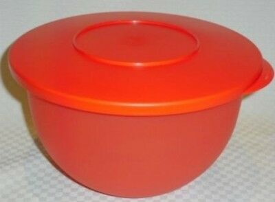 NEW TUPPERWARE Impressions Medium Mixing Bowl & Lid 10.5 cup BPA Free Shipping