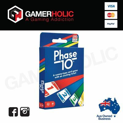 Phase 10 Card Game Brand New