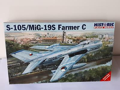 Historic 48-008 S-105 / MiG 19S Farmer C Soviet Warsaw Pact Air Fighter 1:48 PE