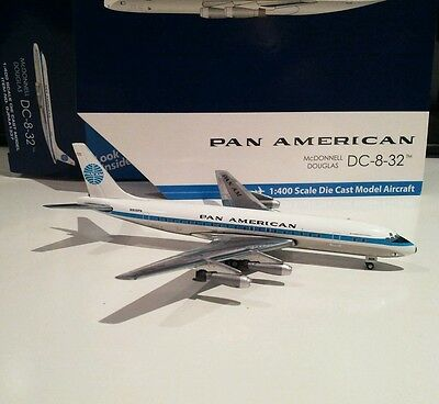 GEMINI JETS PAN AMERICAN  DC-8-32 1:400 DIE-CAST MODEL PAN AM GJPAA1337 N809PA