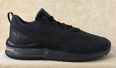 timeless design fbfea 1c71b Men Nike Air Max Fury Running Athletic Shoes Black black Anthracite AA5739 -002