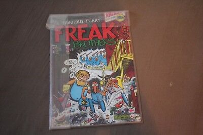 Original The Fabulous Furry Freak Brothers #1 1971 in Perfect conditions/Plastic