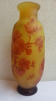 Emile Galle Vase Jugendstil Art Nouveau France