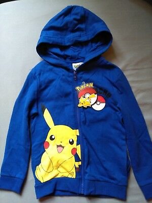 boy's Pokémon hooded zip up jacket new with tags age 6-7 years from Primark
