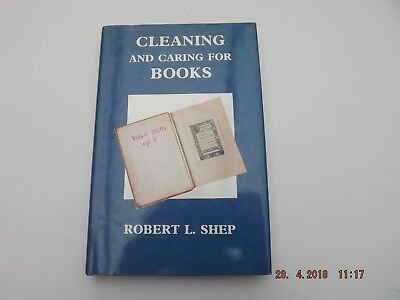 Bookbinding - Cleaning and Caring for Books