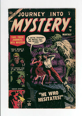 Journey Into Mystery #8 - Very Rare Atlas Horror! - 1953 - Awesome Cover!