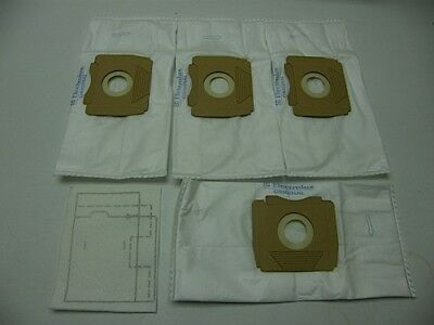 Vacuum Bag Plus Filter: ES53 Pack of 4 for Electrolux Filio, Tango, Samba, Bo...