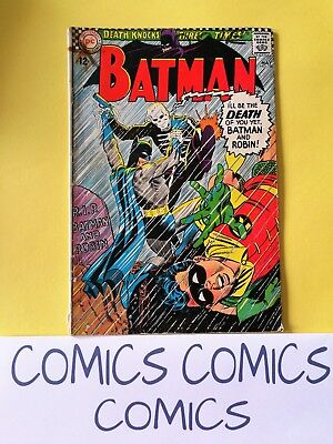 Batman Vol.1 #180. Dc Comics 1966 Very Good Minus Vg- 3.5