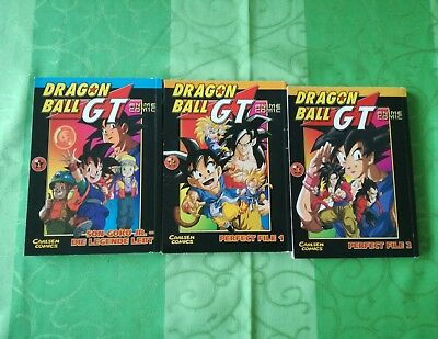 Manga Dragon Ball GT Dragonball GT 1-3 komplett Anime Comic
