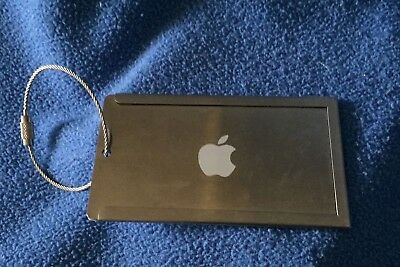 Apple Mac Branded Luggage Tag, stainless steel Purchased in Cupertino early 90s