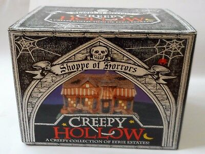 Midwest Cannon Falls CREEPY HOLLOW Halloween DRIVE UP DINER Lighted Skully's BOX