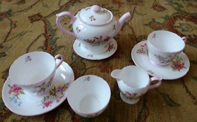 Shelley China Tea for Two STOCKS PATTERN  Pink
