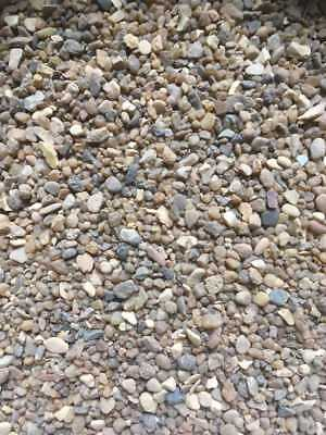 Fish Tank Aquarium Natural Pea Gravel Stones Substrate Pre-washed 0.5 to 2Kg 3mm
