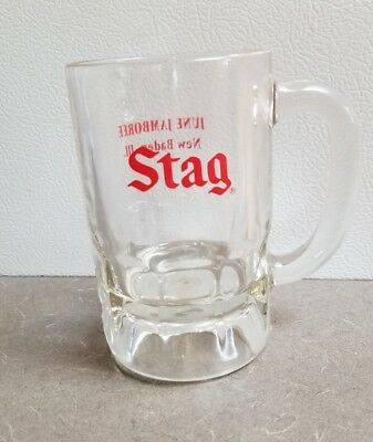 Stag Beer Glass Mug Cup Advertisement June Jamboree New Baden ILL IL