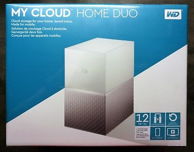 WD My Cloud Home Duo 12TB (2 x 6000 GB) neu & original verpackt - Western Digita